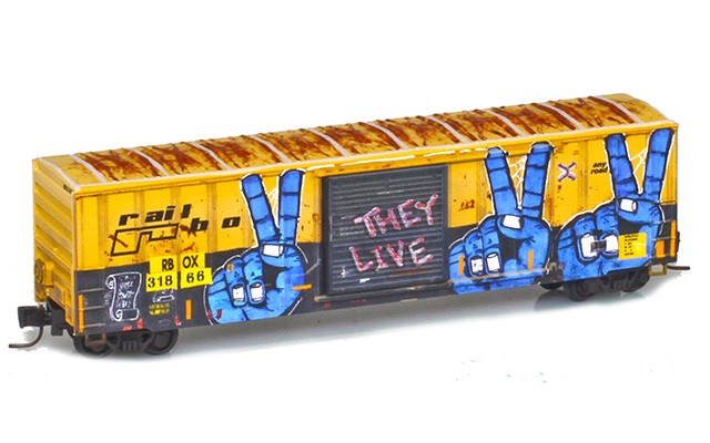 Micro-Trains 51045223 RBOX 50' Single Door Boxcar #161816 Railbox Series 2 of 11 | World Peace Day