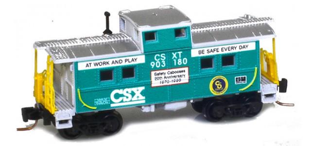 Micro-Trains 53500420 CSX Center Cupola Caboose #903180