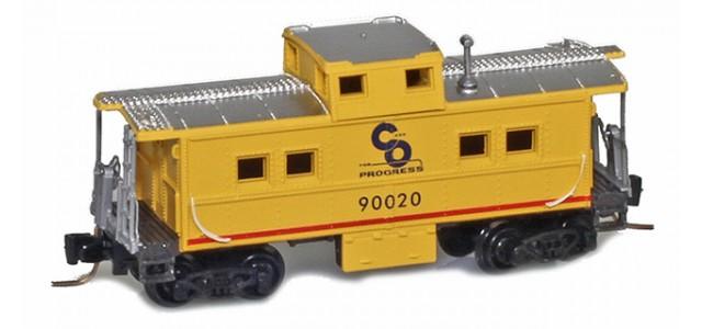 Micro-Trains 53500460 CO Center Cupola Caboose #90020
