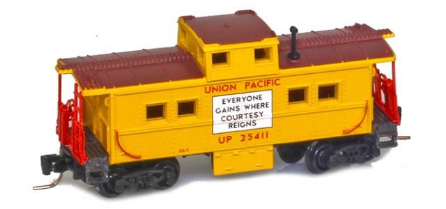 Micro-Trains 53500480 UP Center Cupola Caboose #25411