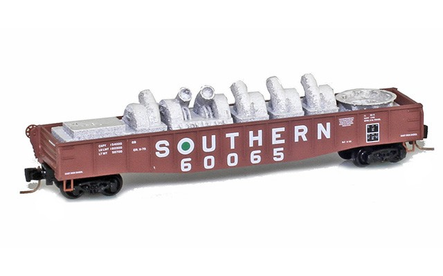 Micro-Trains Line 52200371 Southern 50' Fishbelly Gondola #60065