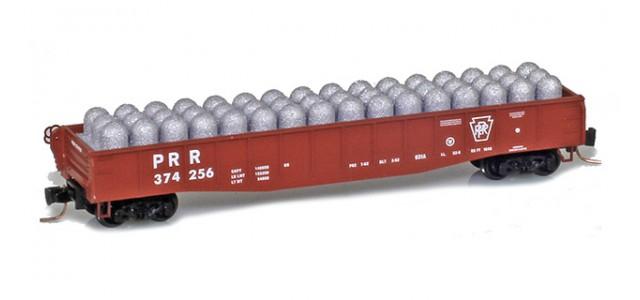 Micro-Trains Line 52200391 PRR 50' Fishbelly Gondola #374256
