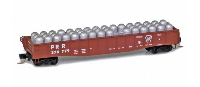 Micro-Trains Line 52200392 PRR 50' Fishbelly Gondola #374779