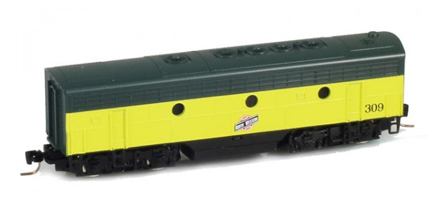 Micro-Trains Line 98002382 CNW EMD F7B Powered #315