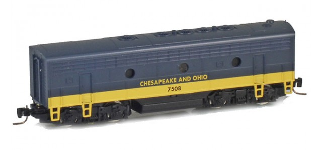 Micro-Trains Line 98002401 C&O EMD F7B Powered #7509