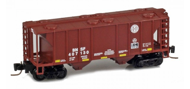 Micro-Trains 53100261 BNSF PS-2 2-Bay Covered Hopper #407130