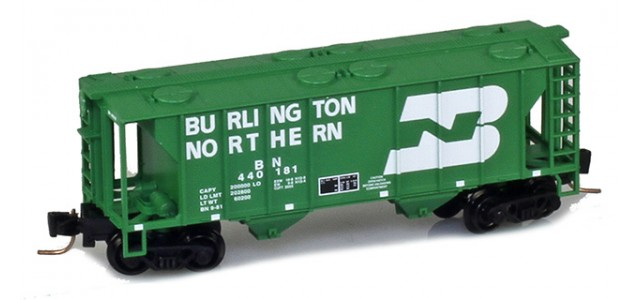 Micro-Trains 53100311 BN PS-2 2-Bay Covered Hopper #440181