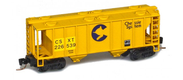 Micro-Trains 53100331 CSX PS-2 2-Bay Covered Hopper #226539