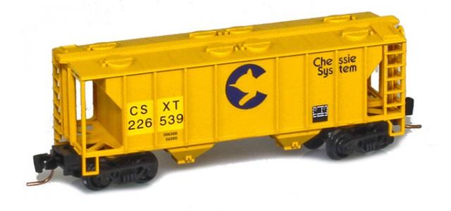 Micro-Trains 53100332 CSX PS-2 2-Bay Covered Hopper #226482