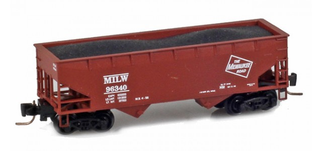 Micro-Trains 53300141 Milwaukee 33' Twin Bay Offset Side Hopper #66340