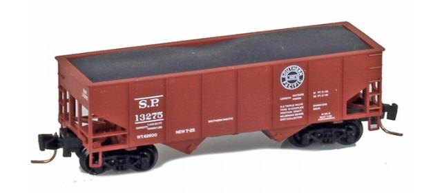 Micro-Trains 53400122 SP 33' Two-Bay Rib-Side Hopper #13400