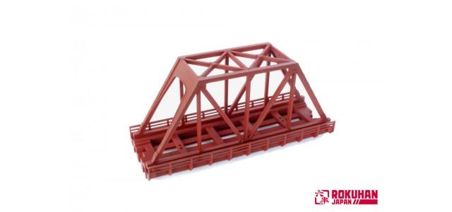 Rokuhan R088 Iron Bridge 110mm | Red