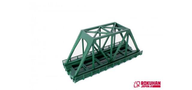 Rokuhan R089 Iron Bridge 110mm | Green