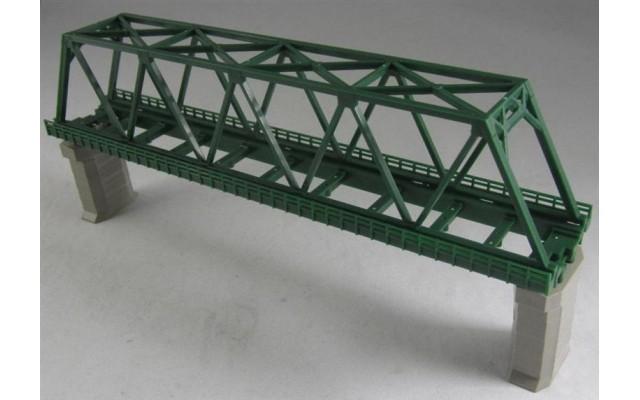 Rokuhan R041 Single Track Iron Bridge   Green