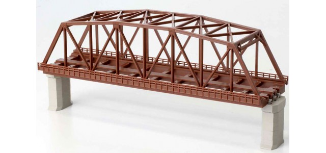 Rokuhan R060 Double Track Iron Bridge | Brown