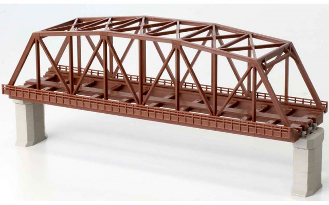 Rokuhan R060 Double Track Iron Bridge | Brown