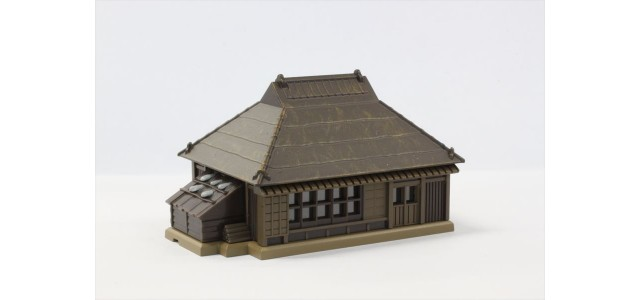 Rokuhan S025-3 Farmhouse Brown Metal Roof