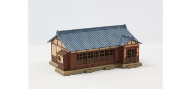 Rokuhan S026-2 House | Dark Blue Tiled Roof