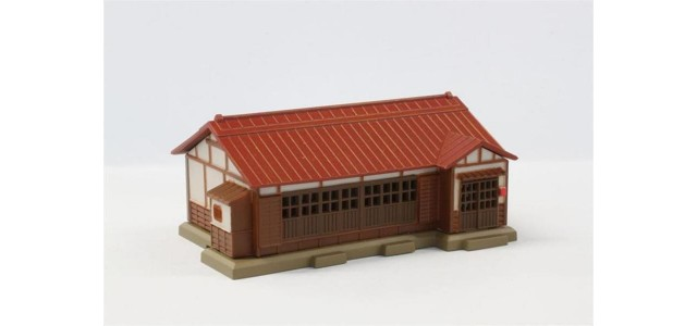 Rokuhan S027-1 House | Red Metal Roof