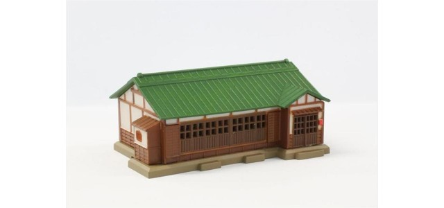 Rokuhan S027-2 House | Green Metal Roof