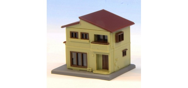 Rokuhan S043-1 Two Story House B | Beige