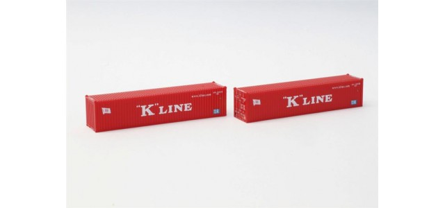 Rokuhan A101-1 K-Line 40' Container | 2-Pack
