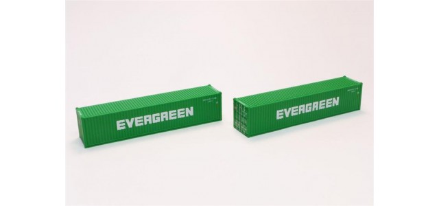 Rokuhan A101-11 Evergreen 40' Container | 2-Pack