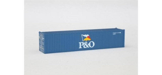 Rokuhan A101-7 P&O 40' Container | 2-Pack