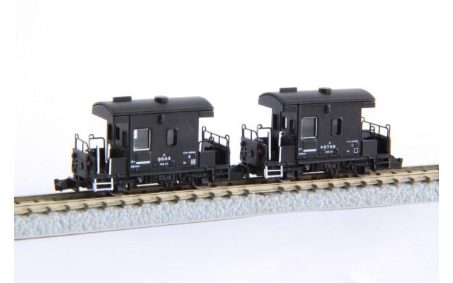 Rokuhan T032-1 TAIJU Type YO 8000 Type Guard Van 254 TOBU Railway   2-Car Set