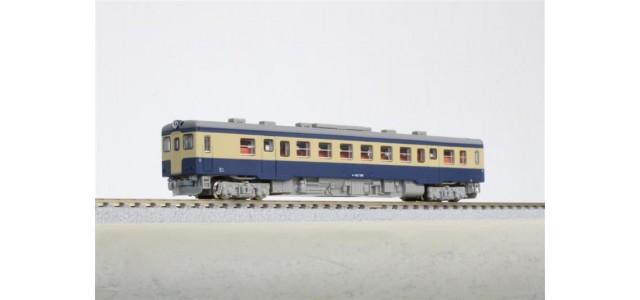 Rokuhan T009-4 JPR KIHA52-100 | Early JNR Color Motorized Passenger Car