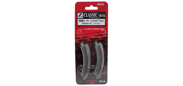 Rokuhan R010 Curved Track R95mm 45 Degree