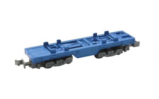 Rokuhan SA006-1 Z Shorty Container Car | Blue