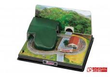 Rokuhan SS002-1 Z Shorty Tunnel Mini-Layout Set