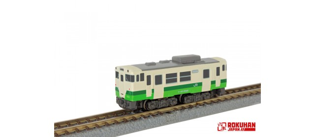 Pre-Order Rokuhan ST009-3 East Japan Railway Company Shorty KIHA40 Tohoku Area Headquarters Color
