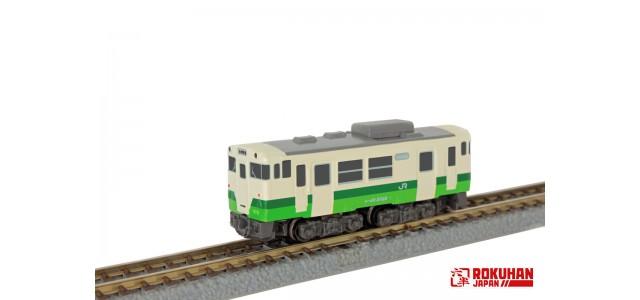 Pre-Order Rokuhan ST009-3 East Japan Railway Company Shorty KIHA40 Tohoku Area Headquarters Color