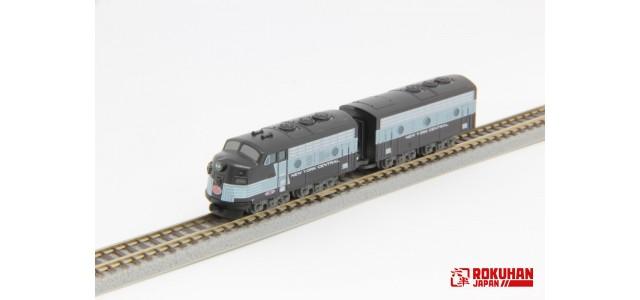 PRE-ORDER - Rokuhan ST012-2 NYC EMD F7 A B 2-Car Set | Z Shorty