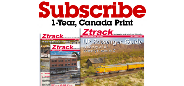 Ztrack Magazine 1-Year Subscription Print Canada