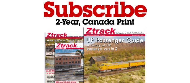 Ztrack Magazine 2-Year Subscription Print Canada