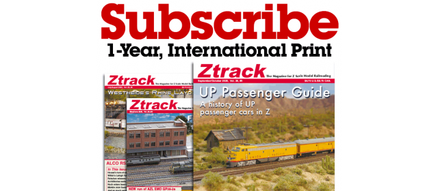 Ztrack Magazine 1-Year Subscription Print International