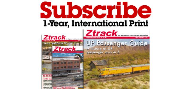Ztrack Magazine 1-Year Subscription Print International