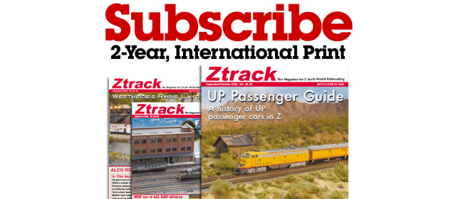 Ztrack Magazine 2-Year Subscription Print International