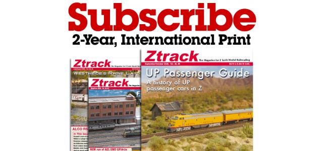 Ztrack Magazine 2-Year Subscription Print International
