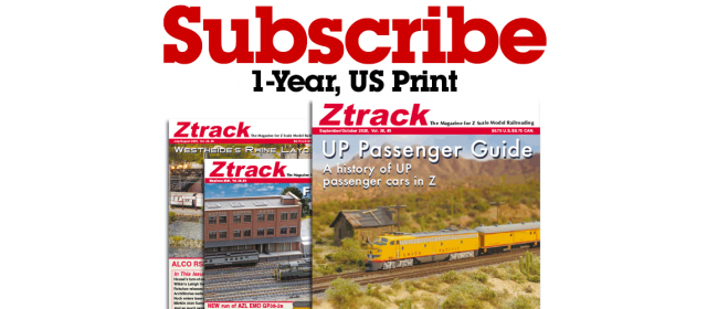 Ztrack Magazine 1-Year Subscription Print US