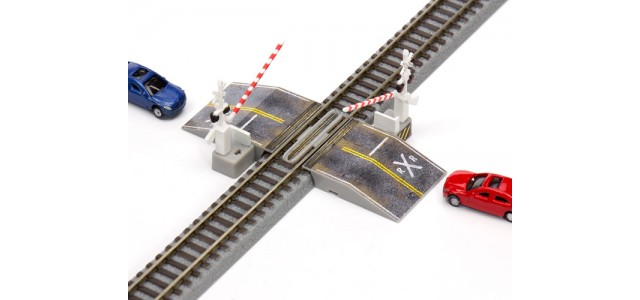 ZTR-300 Ztrains Realistic Road Decals For Rokuhan Railroad Crossing