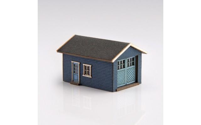 Archistories 426070-DB   Single Garage Kit   Dark Blue