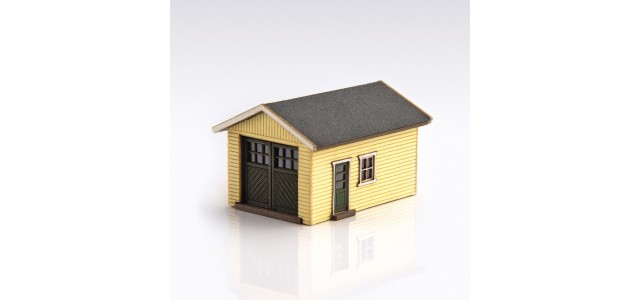 Archistories 426070-LY | Single Garage Kit | Light Yellow