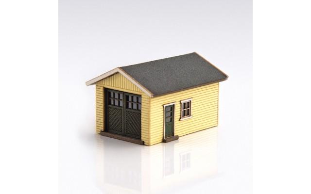 Archistories 426070-LY   Single Garage Kit   Light Yellow