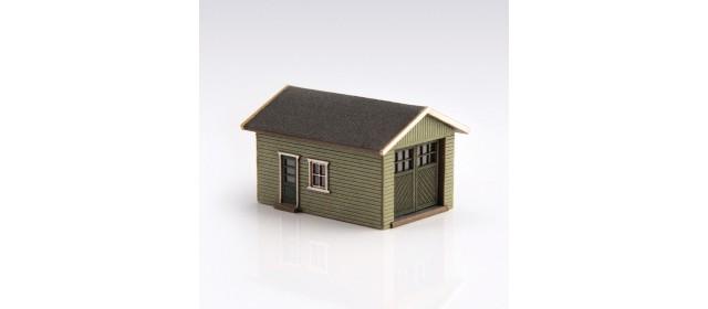 Archistories 426070-O | Single Garage Kit | Olive