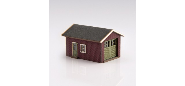 Archistories 426070-R | Single Garage Kit | Ruby