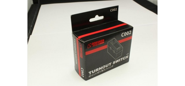 Rokuhan C002 Turnout Switch